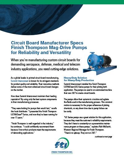circuit board manufacturer case study